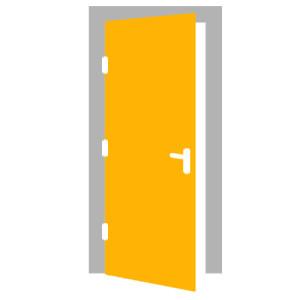 Interiérové dvere - ĽAVÉ