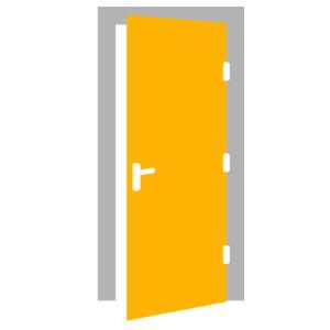 Interiérové dvere - PRAVÉ