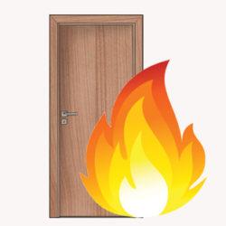 protipoziarne interierove dvere