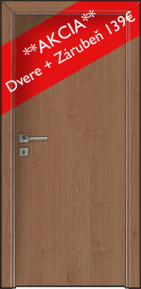 interierove dvere + zárubňa akcia